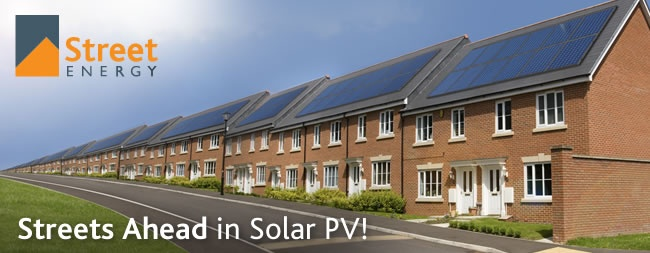 Streets ahead in solar PV